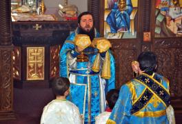 Настоятель протоиерей Вячеслав Давиденко 2007-2010 - фото 2