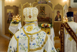 Cambridge, Ontario, Canada. 2 May 2015. Moments of orthodox Divine Liturgy at the church of Saint Patriarch Tikhon Confessor and New Martyrs of Russia. © Igor Ilyutkin. © Igor Ilyutkin